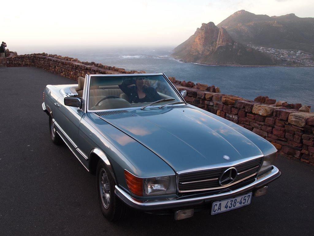 Vintage Mercedes 450sl Rental